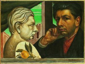 Giorgio De Chirico (DR), Autoportrait, 1922-1924 (eh oui, il a pris son temps).