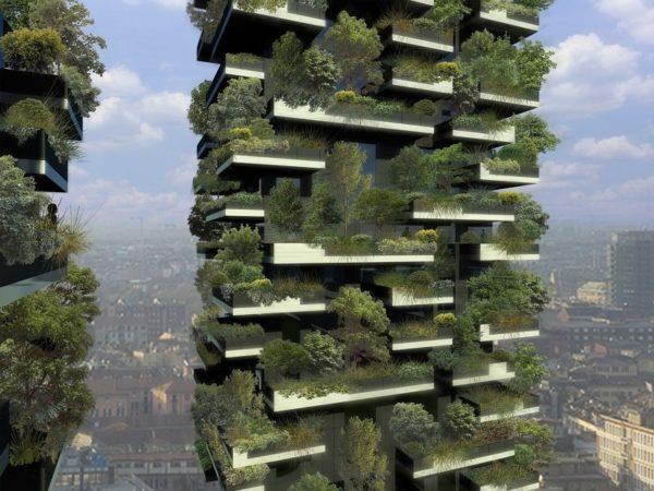 Bosco vertical. Milan. Architecte : Stephano Boeri.DR