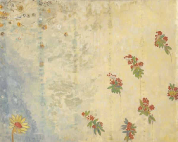 Odilon Redon (1840 -1916), Décoration Domecy : marguerite et baies de sorbier, 1901.Photo (C) RMN-Grand Palais (musée d'Orsay) / Hervé Lewandowski musée d'Orsay http://www.musee-orsay.fr/ https://art.rmngp.fr/fr