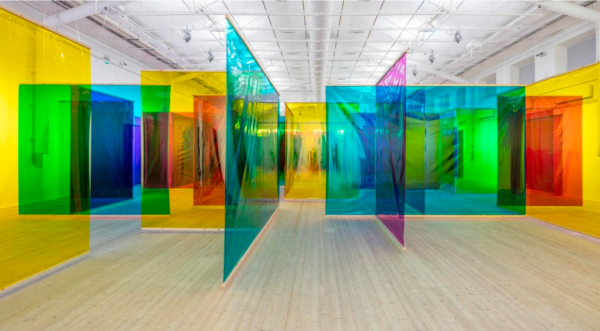Olafur Eliasson, Seu corpo da obra (Your body of work), 2011 © 2011 Olafur Eliasson Foto: Anders Sune Berg Installation view, Moderna Museet/ArkDes, Stockholm 2015
